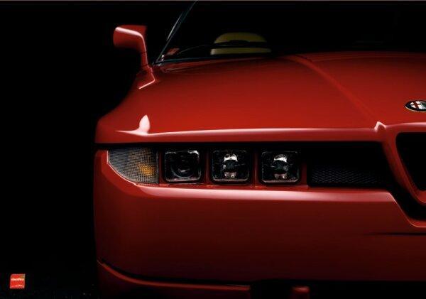 Alfa Romeo SZ ES30  Zagato  Poster 70x100cm, 250g Papier, Neuware